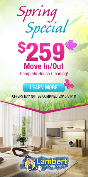 Spring 2018 $259 Move In/Out Promotion
